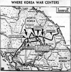 Map published October 15, 1952